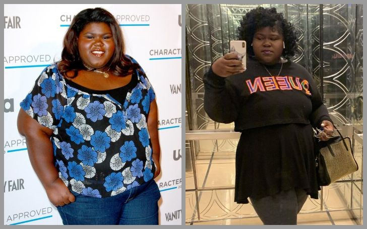 After Gabourey Sidibe' weight loss surgery, she looks quite thin.