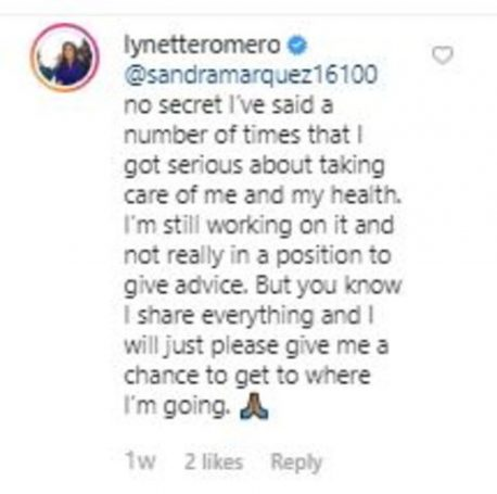 Here's what Lynette Romero had to say about her weight loss journey.